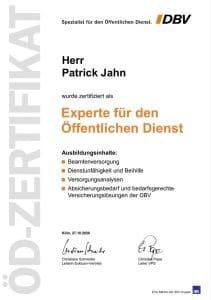Patrick Jahn - DBV Experte für den Öffentlichen Dienst